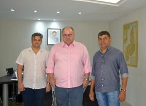 Reunião prefeito e vice-prefeito