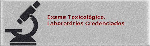 Exames Toxicologicos
